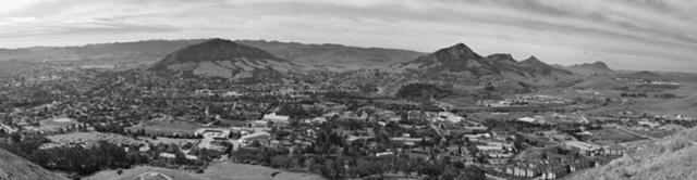Cal Poly - San Luis Obispo - b&w