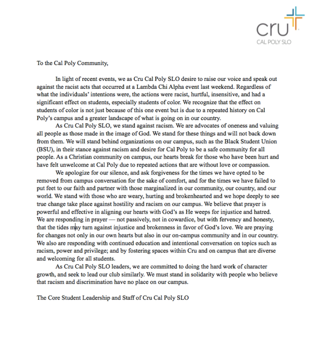 Cru Cal Poly response letter.png